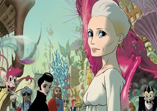 filmy animowane dla dorosłych kobbieciarnia